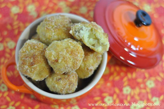 Blog di cucina di Aria: Polpette di persico e patate al limone