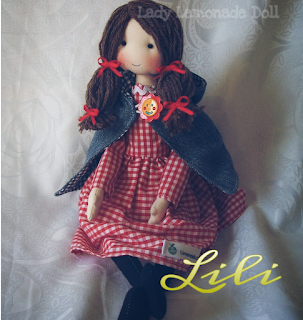cloth doll cap
