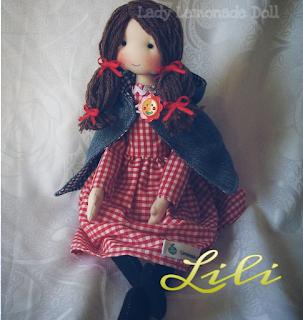 cloth doll cap