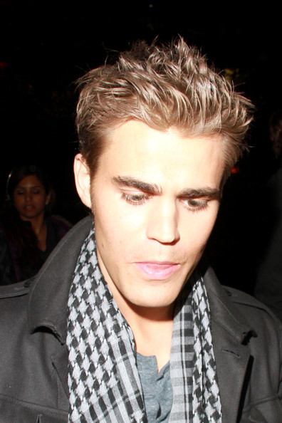paul wesley hairstyle : ... : Paul wesley short spike Hairstyles with brown hair color for Boys