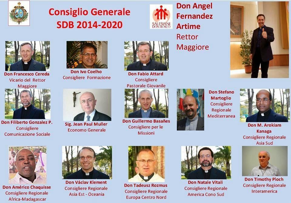 Ecco il nuovo Consiglio Generaledei Salesiani!