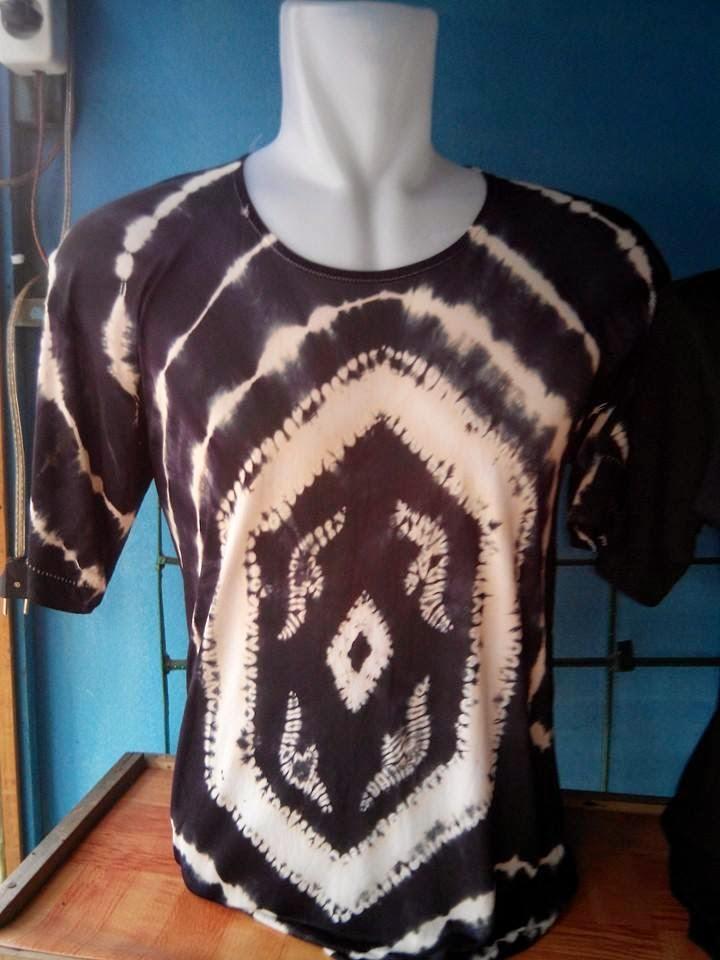 Model Baju Kaos Sasirangan Terbaru