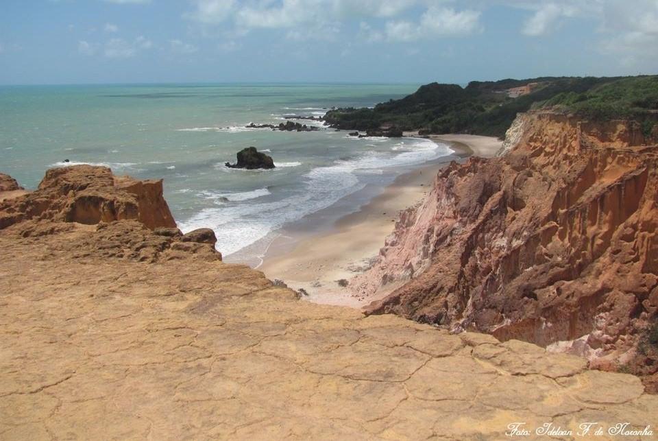 Tambaba Conhecida Praia De Naturismo Do Litoral Sul Da Paraiba