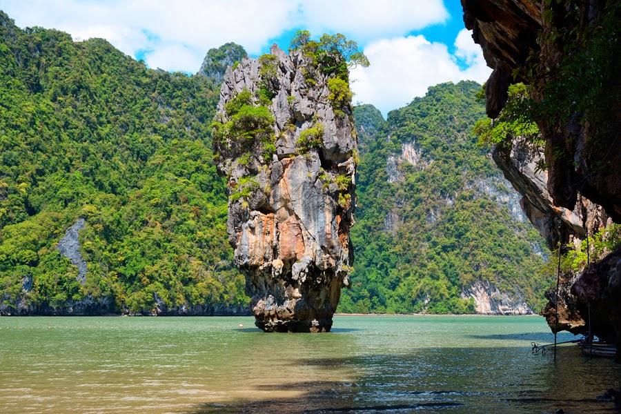wyspa jamesa bonda w tajlandii