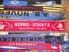 Ya a la venta por solo 10 € la bufanda del Berrio-Otxoa F.S.