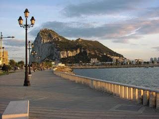 Le fameux rocher de Gibraltar