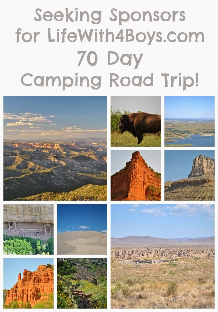 1 Mom, 4 Boys and a 70 Day #Camping Road Trip. #travel #familytravel