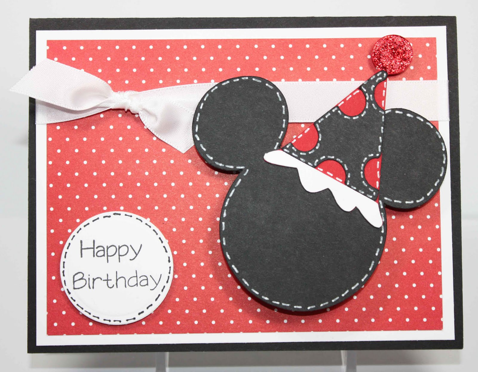 Simply Pam Episode 58 A Mickey s Birthday Card