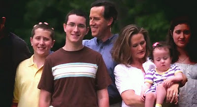 Rick Santorum wife and family