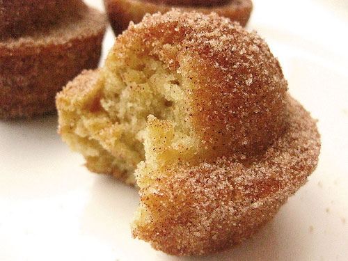 Just Love Food: Coffee Cake Muffins Crusted with Cinnamon and Sugar
