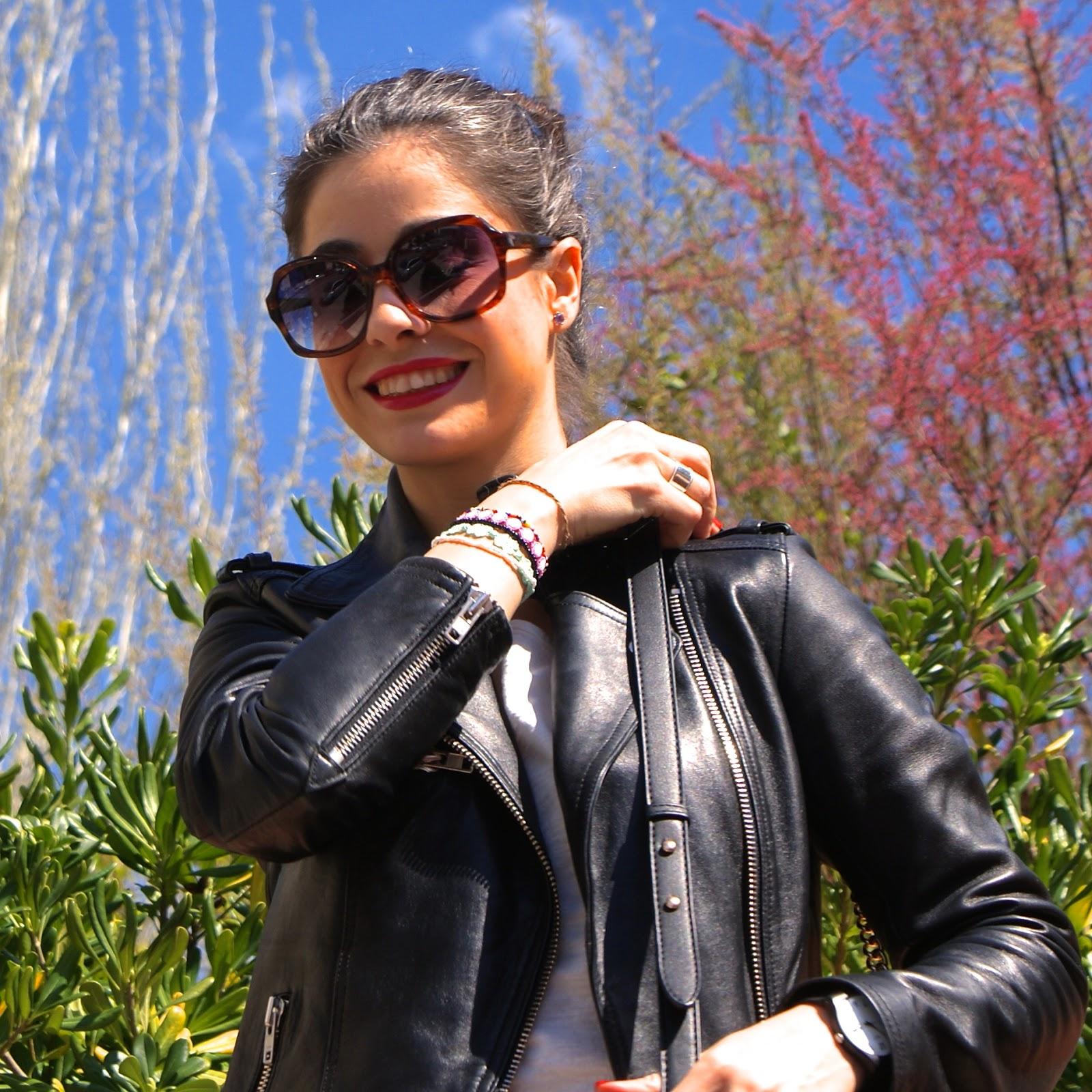 LaCaprichossa, perfecto jacket, pretty in fuchsia