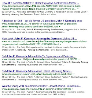 John F. Kennedy Among the Germans - Google search