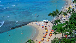 Top Cam: Waikiki Beach