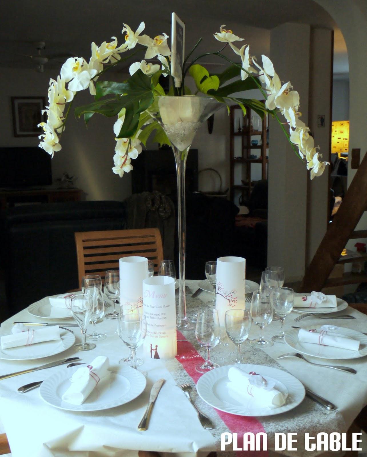 Plan de table le blog le verre martini dans tous ses - Grand verre a pied centre de table ...