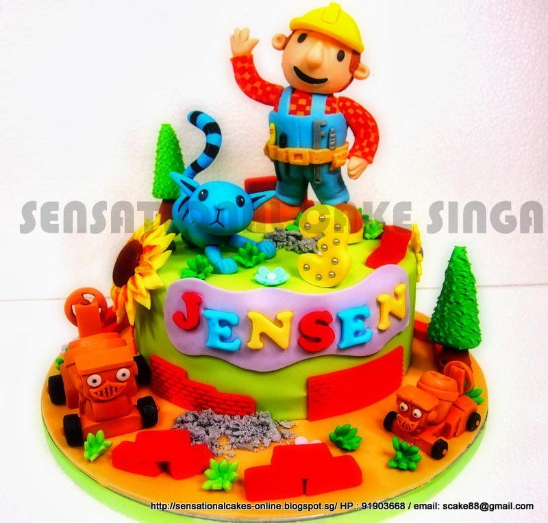 Bob The Builder Birthday Cake Singapore