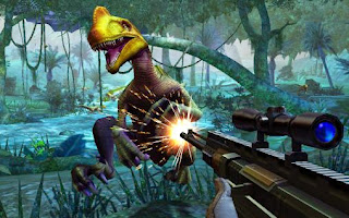 Screenshots of the Dino Hunter Deadly Shores for Android tablet, phone.