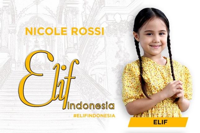 Biodata dan Foto Nicole Elizabeth Rossi Elif Indonesia