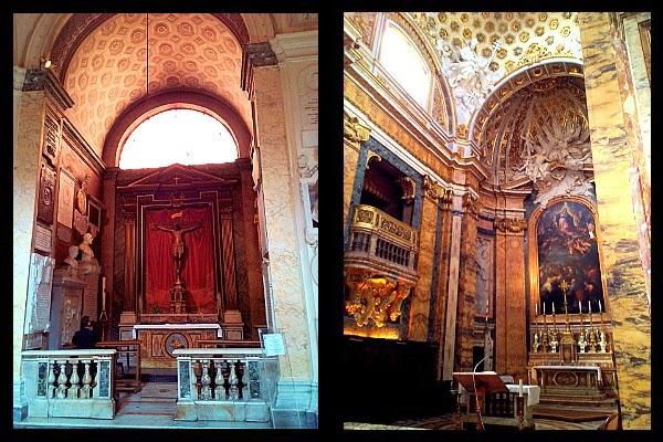 Ołtarz główny w kościele S. Luigi dei Francesi