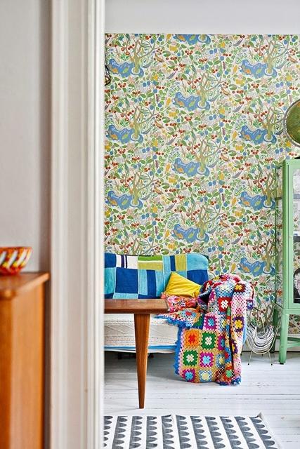 detalhes em cor na decoração
