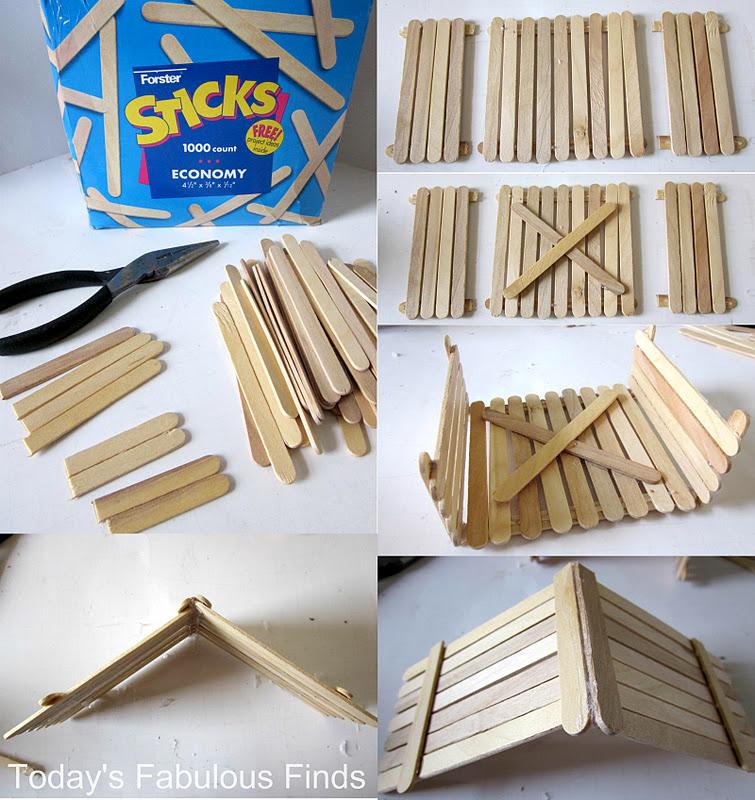 ... Finds: Craft Stick and Clay Pot Children's Nativity Set {Tutorial