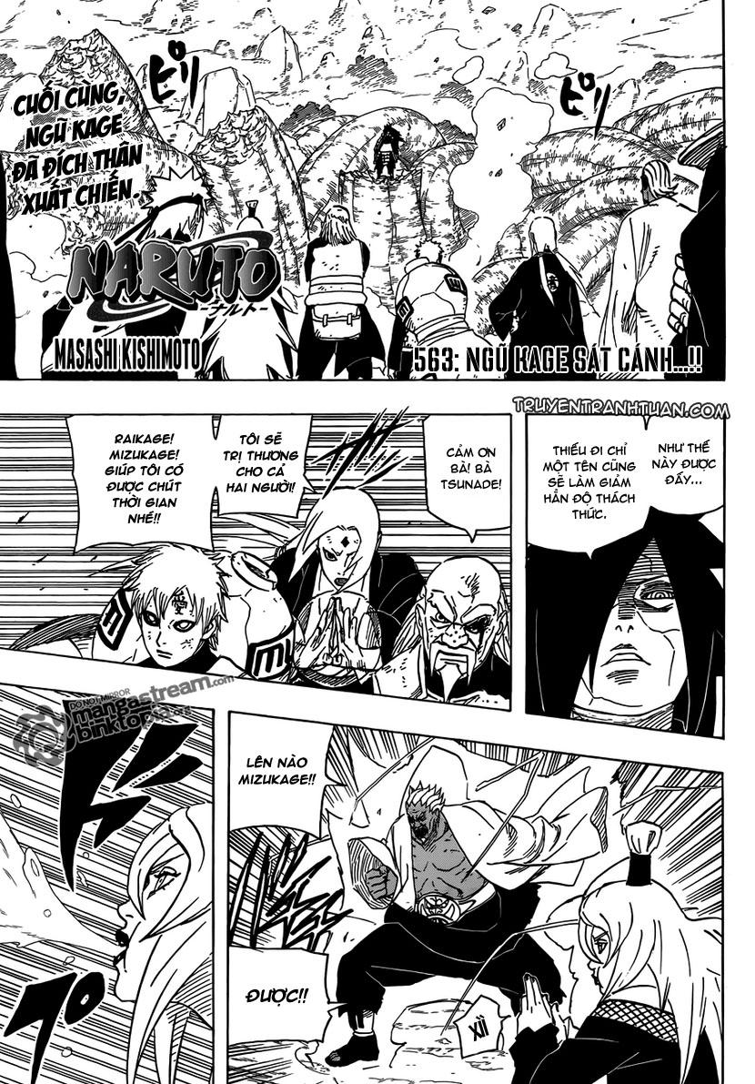 Naruto - Chapter 563 - Pic 1