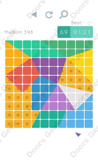 Cheats, Walkthrough for Blocks and Shapes Medium Level 398