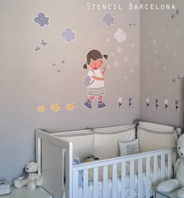 Vinilos infantiles personalizados decoraci n infantil con for Vinilos habitacion infantil