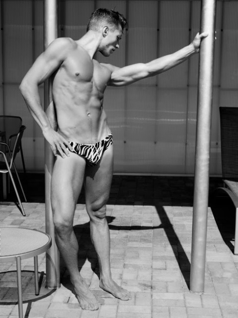 Jason Boyce wearing speedo by Scott Hoover