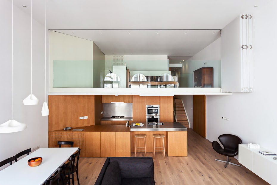 simplicity love: Central London Flat | VW+BS