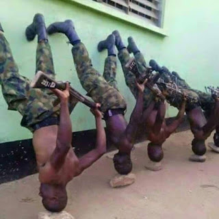 What Kind Of Military Punishment /Training Is This? (Photo)