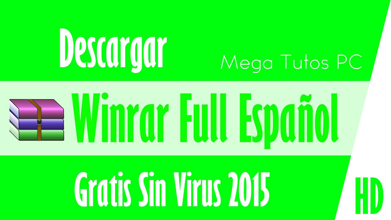 descarga winrar espanol gratis: