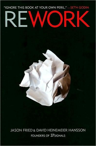 Обложка книги Rework