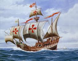 Christopher Columbus' Ship The Santa Maria