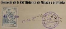 Memoria de la CNT Histórica de Málaga y Provincia