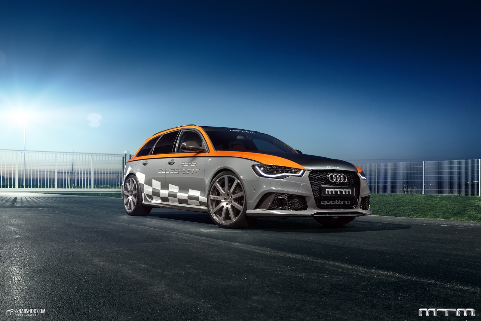 new audi rs6 avant clubsport by mtm has 760ps carscoops. Black Bedroom Furniture Sets. Home Design Ideas