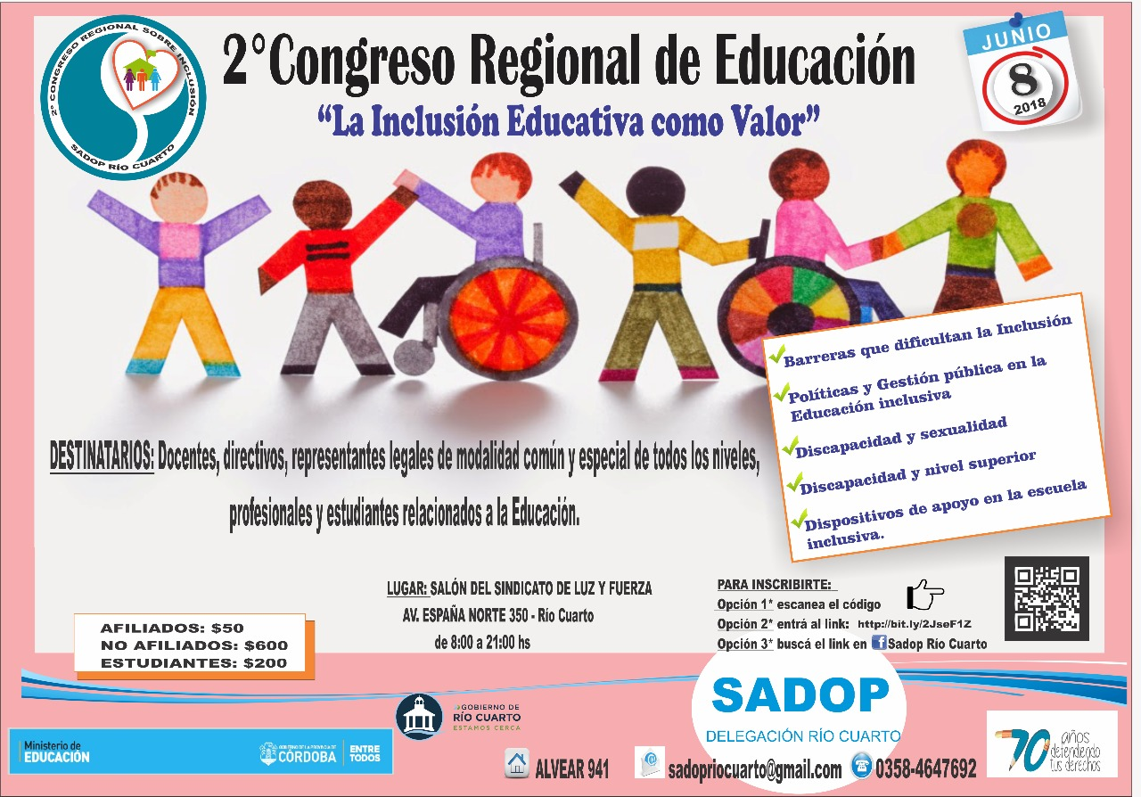2do Congreso Regional de Educación. La inclusión educativa como valor