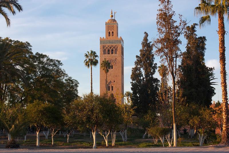minarete de marrakech