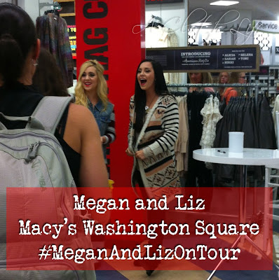 Megan and Liz #meganandlizontour