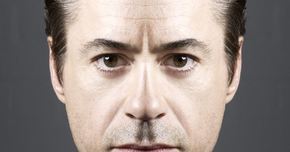 Face 2 Faces: Robert Downey Jr - rJ Yenwod Trebor Robert Downey