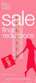 Marks & Spencer Final Reductions Sale 2012
