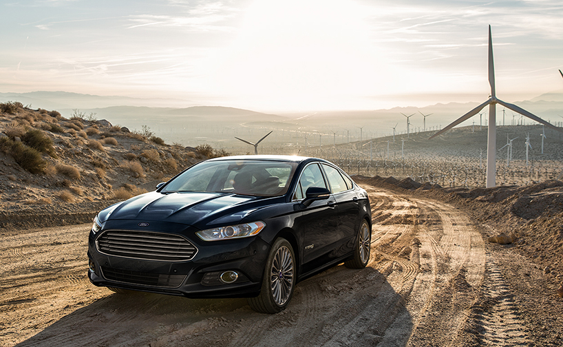 """Nearly Double"" 2014 Ford Fusion Hybrid"