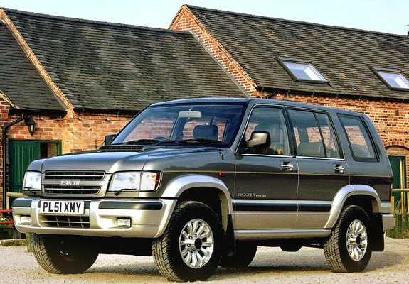 The ultimate car guide car profiles isuzu trooper 1996 2005