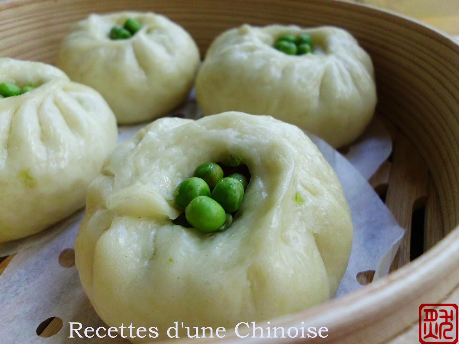 Recettes d 39 une chinoise baozi brioche vapeur aux petits - Cuisine asiatique vapeur ...