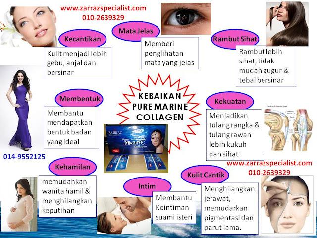 kebaikan pure marine collagen, kolagen zarraz, produk terbaru zarraz paramedical, penjagaan badan langsing, petua kulit cantik dan gebu