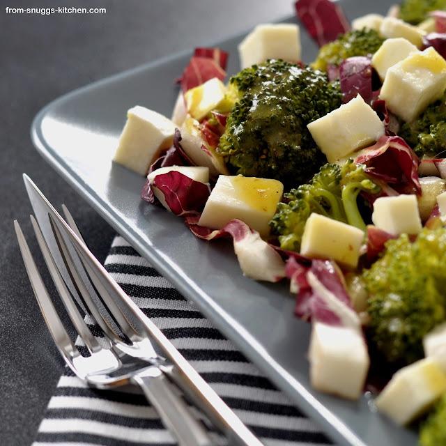 Brokkoli-Radicchio-Salat