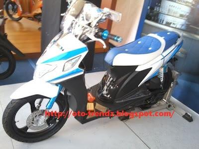 Gambar Modifikasi Suzuki Nex
