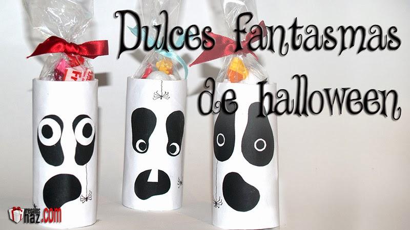 fantasmas dulces para halloween