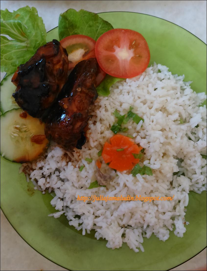 Resepi : Nasi Ayam Madu Paling Mudah