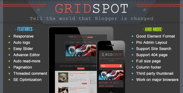 Gird Spot Responsive Blogger Template