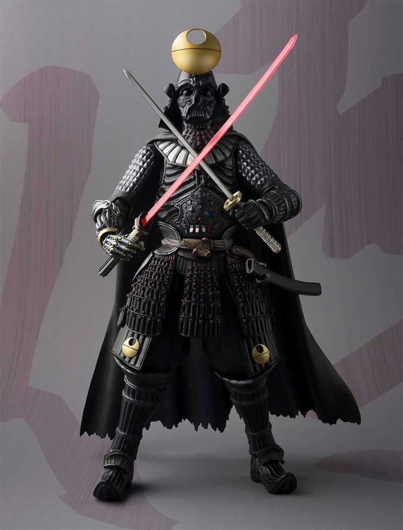 samurai star wars figurines by bandai. Black Bedroom Furniture Sets. Home Design Ideas